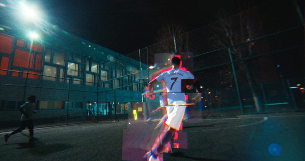 Hacked style glitch design animation VFX