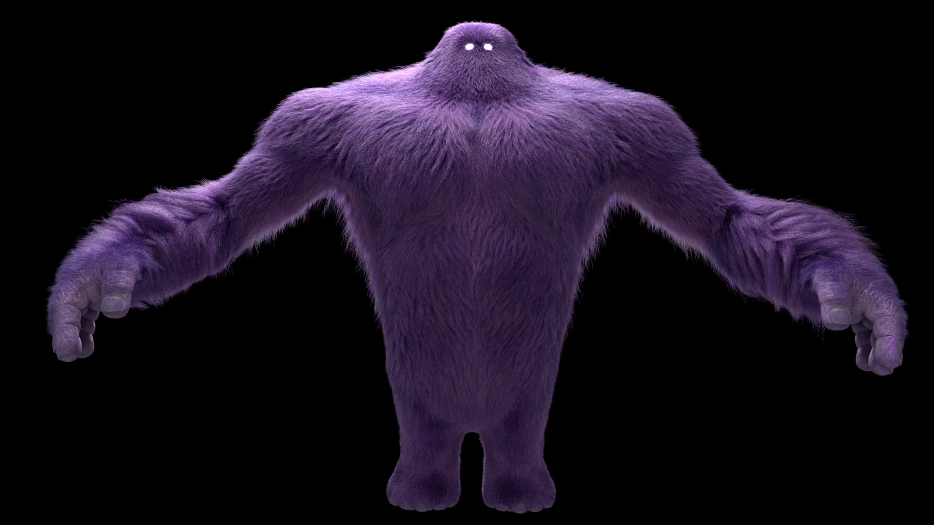 Monster in CGI
