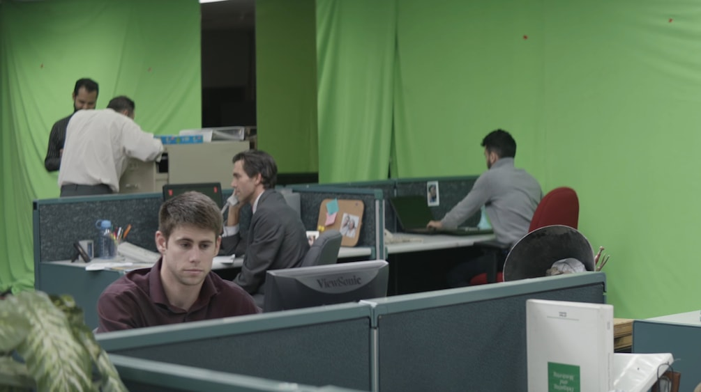 Green screen VFX studio