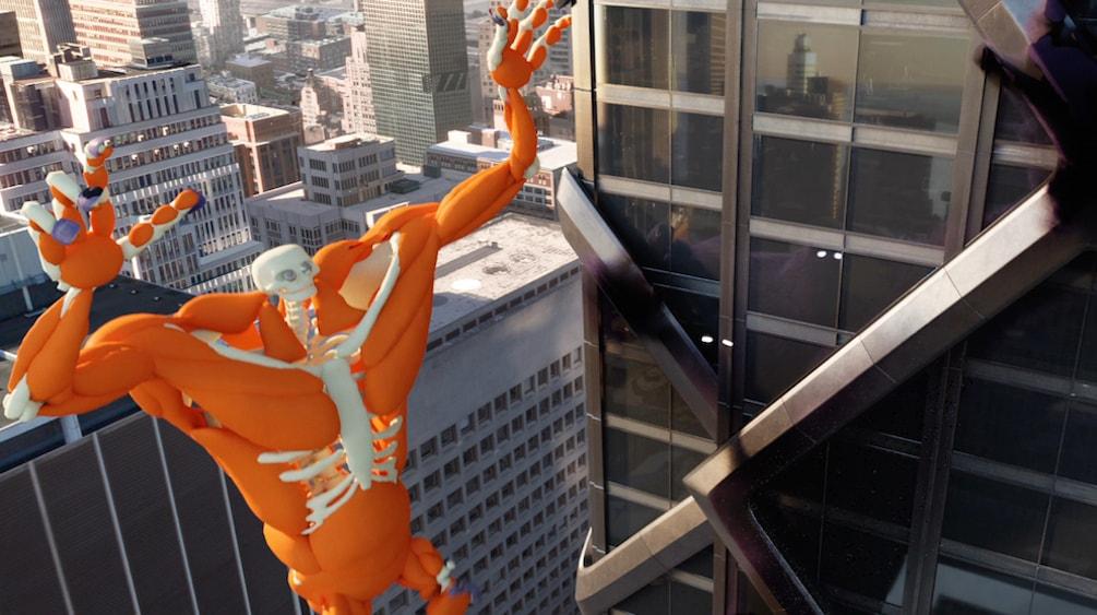 CGI Skeleton of monster.com