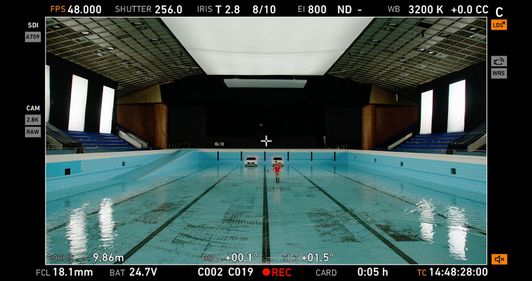Audi 'Synchronised Swim' Frame