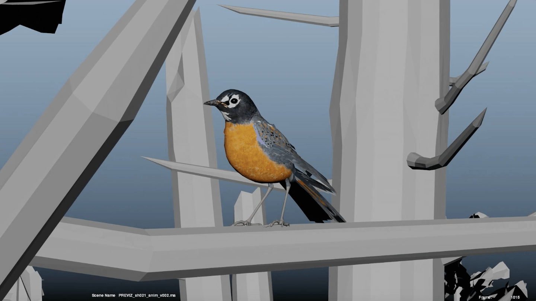 VFX bird