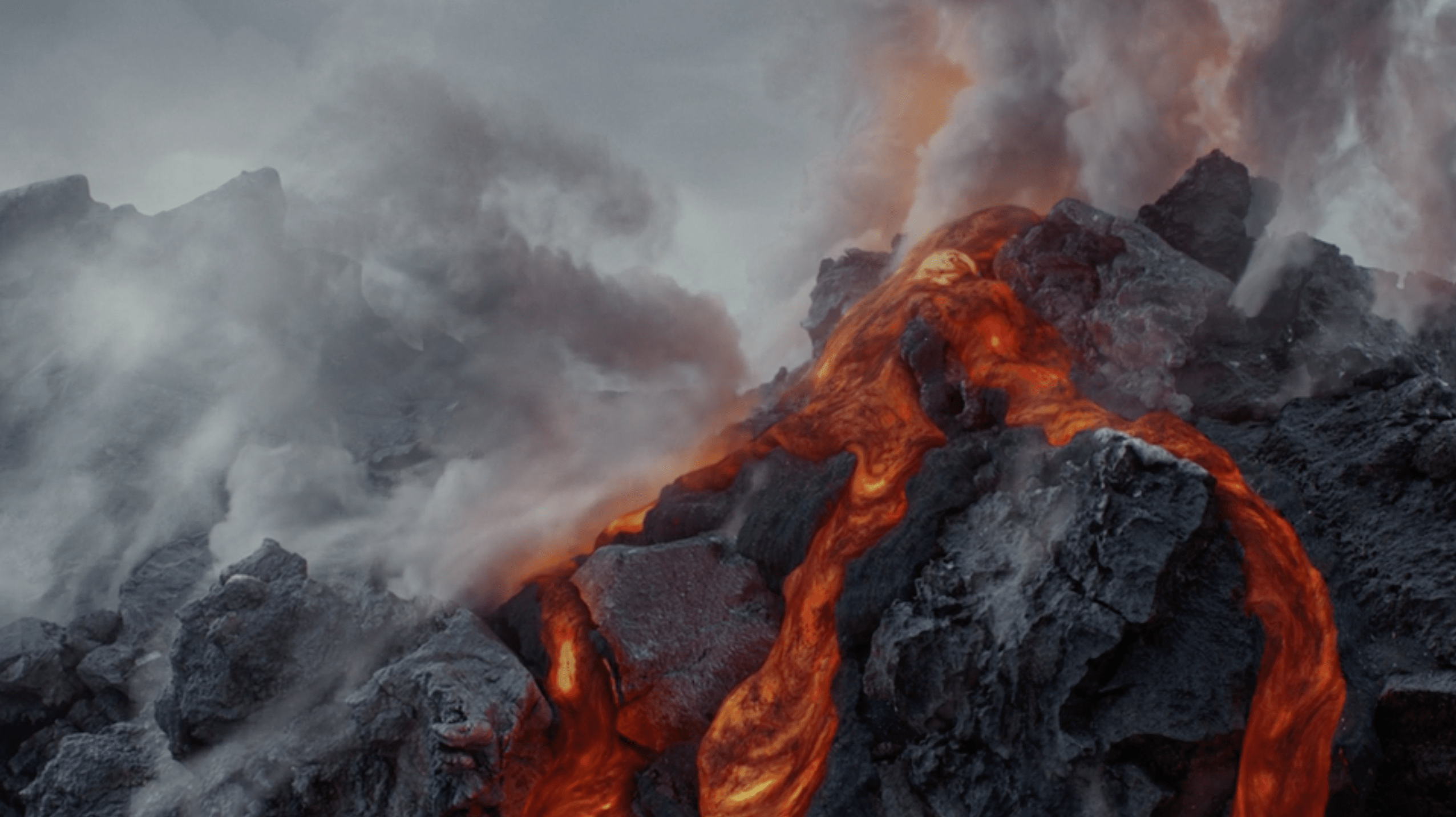 Lava at the heart, Conveying there is no masking the truth, design