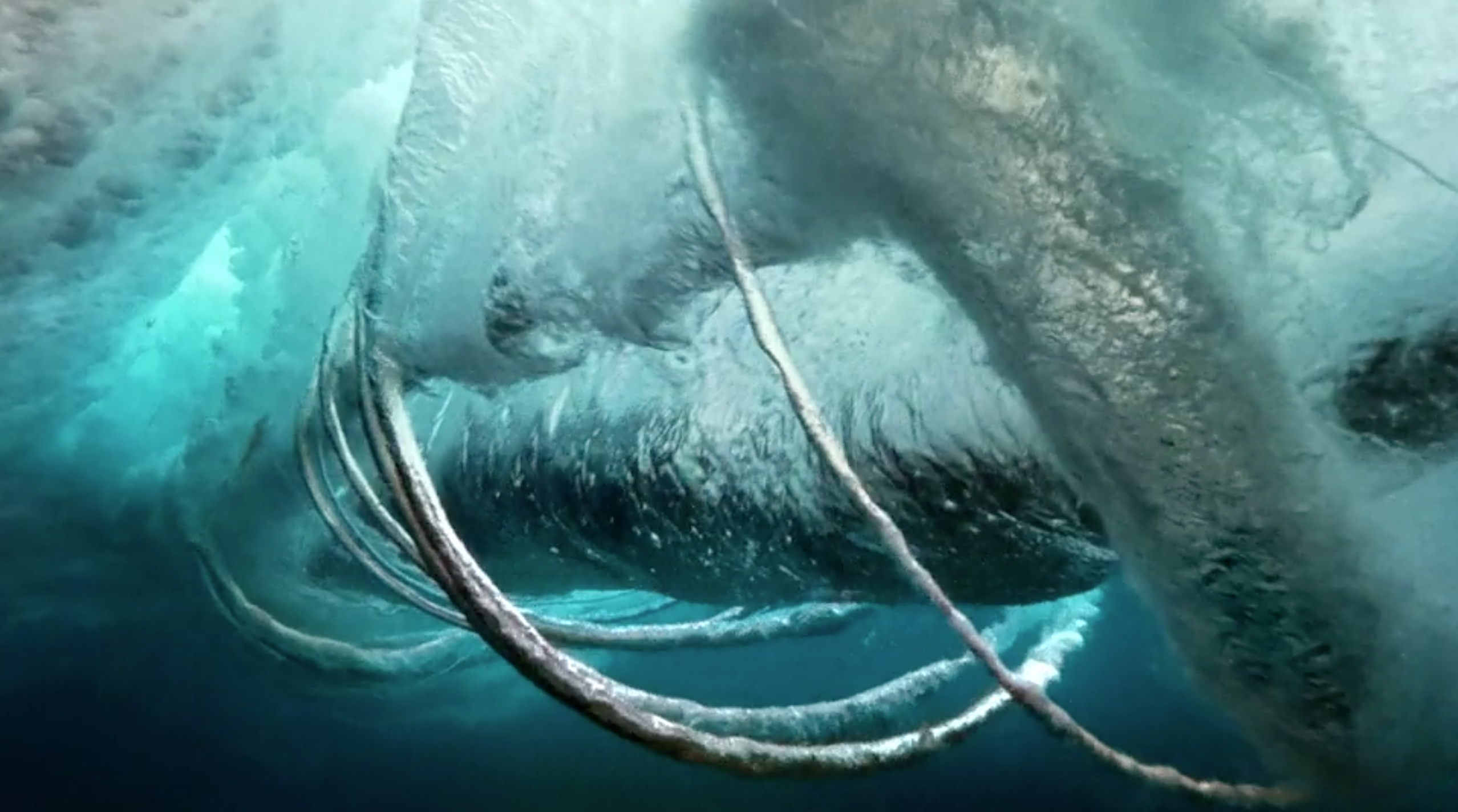 Power for the waves CGI underwater