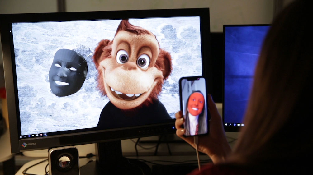 Real-time animation gesture and facial controls with Mill Mascot
